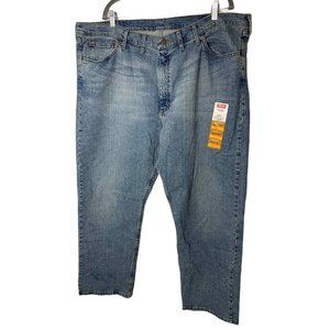 Wrangler Relaxed Fit High Rise Denim Jeans 44X30
